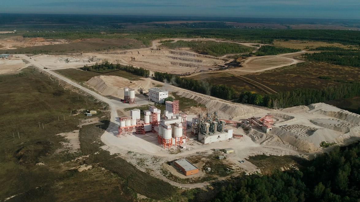 """Предприятие «Центр-Известняк» отгрузило 500 000 тонн извести """"Terex-Lime»!"""